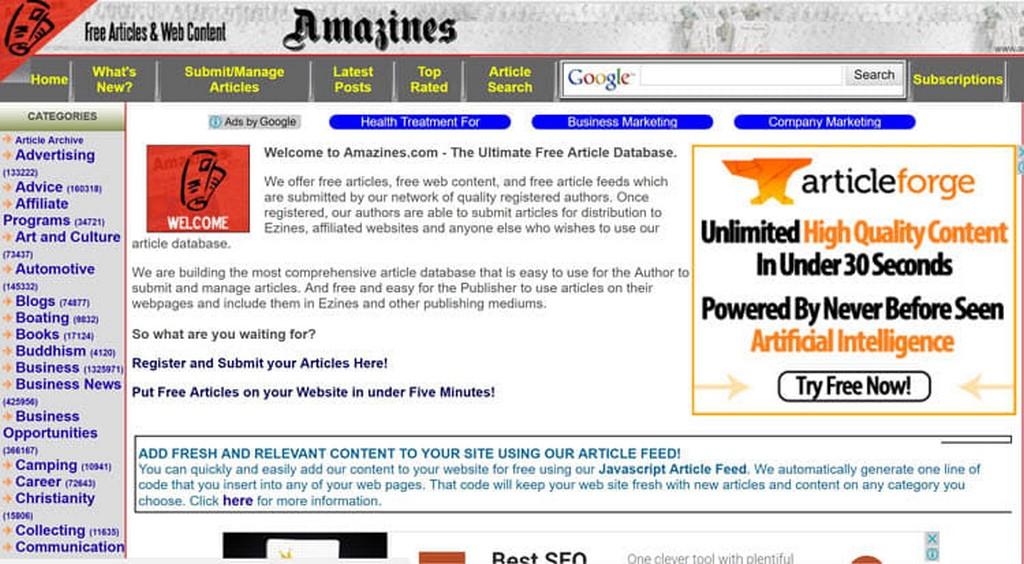 Где искать контент для сайта