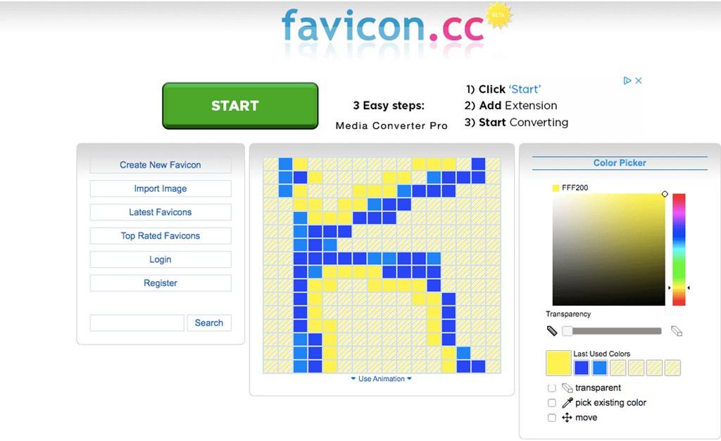 Как выбрать фавикон для сайта
